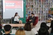 Top 10 Hoa Khôi Học viện Báo chí và Tuyên truyền xinh đẹp, tự tin dưới cương vị MC cho talkshow của Safe Chill