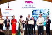 """Vingroup lập """"hattrick"""" tại giải thưởng Quy hoạch Quốc gia VUPA 2018"""