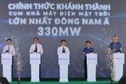 Khánh thành tổ hợp nhà máy điện mặt trời lớn nhất Đông Nam Á trị giá 7.000 tỷ