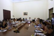 """Sinh hoạt khoa học: """"Thị trường tài chính Việt Nam và Một số biện pháp ngăn ngừa, hạn chế trục lợi Bảo hiểm y tế ở Việt Nam"""""""