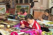Quất Động: Cái nôi của nghề thêu truyền thống