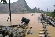 Ngành đường sắt chi hơn 27 tỉ đồng khắc phục sự cố do thiên tai