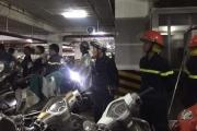 Sự cố hỏa hoạn tại chung cư Hapulico: Do cháy cục phát wifi tại tầng hầm