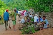 Dân Chiềng Hắc hiến đất, góp 12.000 ngày công cho nông thôn mới