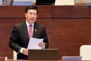 Phó Thủ tướng Chính phủ Phạm Bình Minh trả lời chất vấn