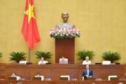 Quốc hội thảo luận đề xuất giảm số lượng Phó Chủ tịch HĐND