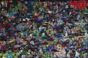 Hình ảnh chiến thắng trong mưa của U23 Việt Nam
