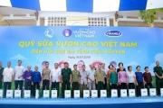 Quỹ sữa vươn cao Việt Nam và Vinamilk trao tặng 70.000 ly sữa cho trẻ em tỉnh Thái Nguyên