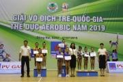 Giải vô địch trẻ quốc gia Thể dục Aerobic năm 2019 quy tụ trên 120 vận động viên trẻ
