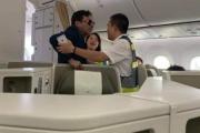 Thương gia say rượu sàm sỡ nữ khách trên máy bay là doanh nhân bất động sản