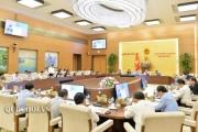 Sáng nay, khai mạc phiên họp 35 của Ủy ban Thường vụ Quốc hội