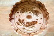 Nghệ nhân 30 năm gìn giữ nghề đúc khuôn bánh trung thu
