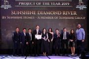 Sunshine Diamond River giành cú đúp giải thưởng danh giá tại Property Vietnam Awards 2019