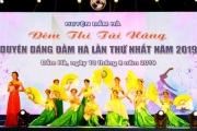Các thí sinh tỏa sáng trong đêm thi tài năng Duyên dáng Đầm Hà 2019