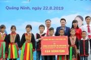 Trẻ em Quảng Ninh đón nhận ngôi trường mới từ Chủ tịch Quốc hội và Quỹ sữa Vươn cao Việt Nam