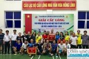 Hà Tĩnh: Thị xã Hồng Lĩnh tổ chức giải cầu lông chào mừng Đại hội đại biểu Mặt trận tổ quốc Việt Nam lần thứ IX.
