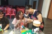 Bà Nguyễn Thị Tuyến- nghệ nhân cuối cùng làm đèn Trung thu làng Hậu Ái