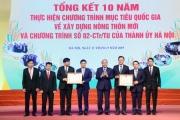 10 năm NTM Hà Nội: Thủ tướng khen ven đô có nhiều nhà lầu, xe hơi