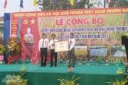 Nhân dân Thạnh Yên A đóng góp 20 tỷ đồng xây dựng nông thôn mới