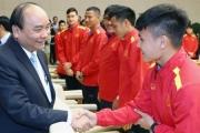 Thủ tướng động viên Đội tuyển Việt Nam trước trận gặp Thái Lan