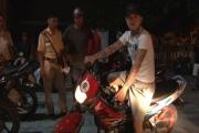 Cảnh sát giao thông thành phố Huế ra quân lập lại trật tự An toàn giao thông