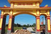 """Hà Tĩnh: """"Mạnh thường quân""""  bỏ 300 triệu cho dân xây cổng làng"""