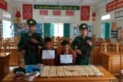 Biên phòng Quảng Bình bắt và thu giữ 100.000 viên ma túy tổng hợp