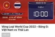 """Trận Việt Nam vs Thái Lan """"cháy vé"""" chỉ sau 1 phút"""