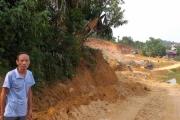 Giáo dân xứ đạo Tạ Xá hiến đất làm đường