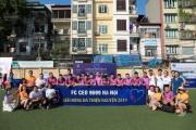 Cựu học sinh PTTH Niên khóa 96-99 Hà Nội tổ chức giải bóng thiện nguyện