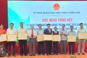 """Nông thôn Thừa Thiên - Huế """"thay áo mới"""""""