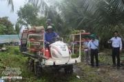 Hỗ trợ nông dân mua máy móc sản xuất nông nghiệp