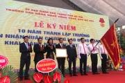 Trường Cao đẳng nghề Công nghệ cao Hà Nội nhận Huân chương Lao động hạng Ba