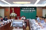 Thông cáo báo chí Kỳ họp 40 của Ủy ban Kiểm tra Trung ương