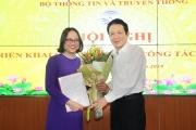 Trao quyết định bổ nhiệm Phó Cục trưởng Cục Báo chí