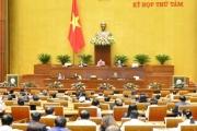 Quốc hội họp phiên bế mạc kỳ họp thứ 8