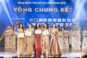 Thí sinh Hoa khôi Thủ đô 2019 tỏa sáng trong đêm chung kết