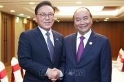 Thủ tướng Nguyễn Xuân Phúc tiếp Tổng lãnh sự danh dự khu vực Busan – Keangnam