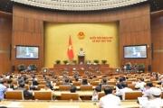 Quốc hội thảo luận ở tổ về Dự án Luật Doanh nghiệp (sửa đổi)