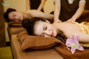 Trải nghiệm massage trị liệu tại tổ hợp chăm sóc sức khỏe 5 sao Zen Villas