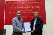 Lễ công bố Quyết định thành lập Chi bộ Tạp chí Doanh nghiệp và Thương hiệu