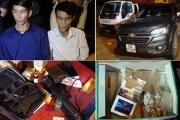 Quảng Bình: Lực lượng 141QB bắt giữ xe ô tô có ma túy và vũ khí nóng