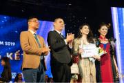 Thương hiệu váy dạ hội đẳng cấp trở thành nhà tài trợ đồng hành cho cuộc thi Hoa Khôi Thủ Đô 2019