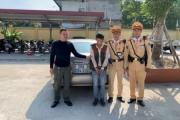 """Hà Nội: Kiểm soát vi phạm giao thông, phát hiện lái xe """"dính"""" ma túy"""