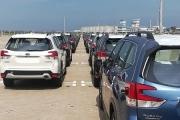 Lượng ô tô nhập khẩu về Việt Nam nhiều gấp đôi năm ngoái