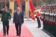 Thủ tướng Nguyễn Xuân Phúc làm việc với Bộ tư lệnh Binh chủng Tăng thiết giáp