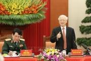 Tổng Bí thư, Chủ tịch nước Nguyễn Phú Trọng gặp mặt đại biểu điển hình tiên tiến toàn quốc