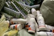 Lạng Sơn: Tịch thu gần 4.000 lọ thuốc thúc chín hoa quả nhập lậu