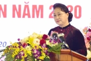 Chủ tịch Quốc hội dự Hội nghị triển khai công tác ngành tòa án năm 2020