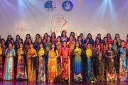 """""""15 tà áo dài"""" đại diện Miền Trung – Tây Nguyên bước vào Vòng Chung kết Hoa khôi Sinh viên Việt Nam 2020"""